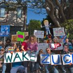 SF Zuck Protest Leon Kunstena 1