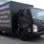 Mobile Billboard -- Facebook enabling racism IS racism